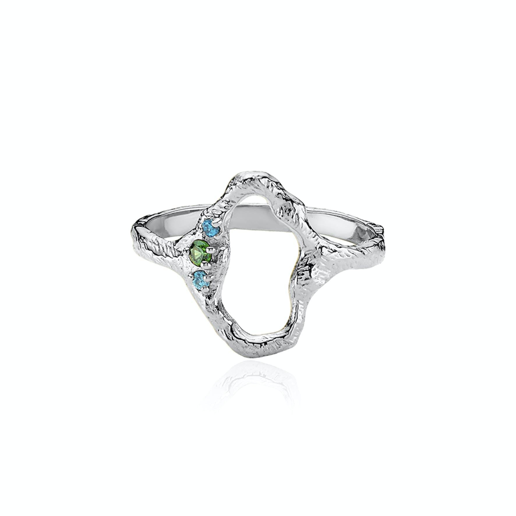 Ocean Ring von Izabel Camille in Silber Sterling 925