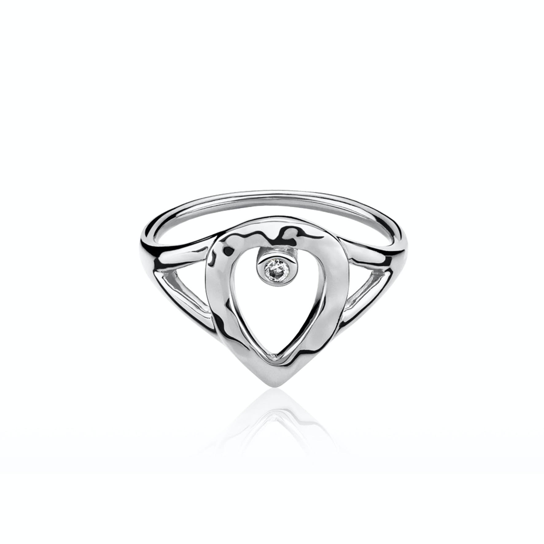 Cecilie Schmeichel Ring fra Izabel Camille i Sølv Sterling 925