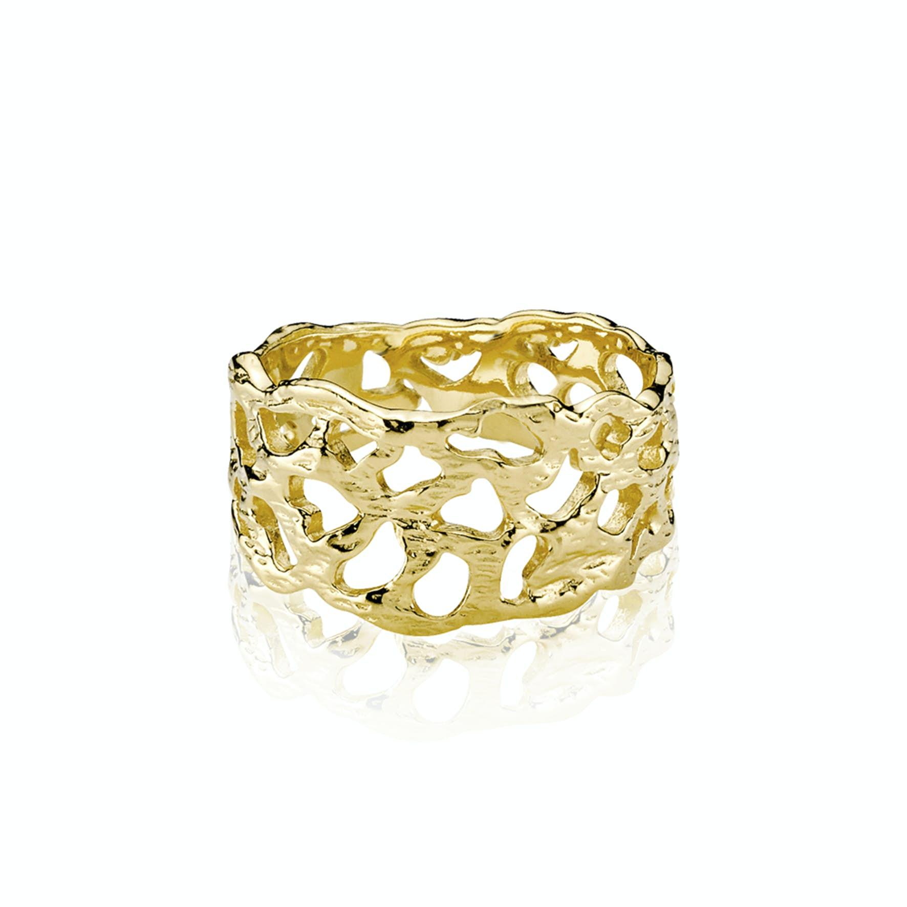 Holly Ring från Izabel Camille i Förgyllt-Silver Sterling 925