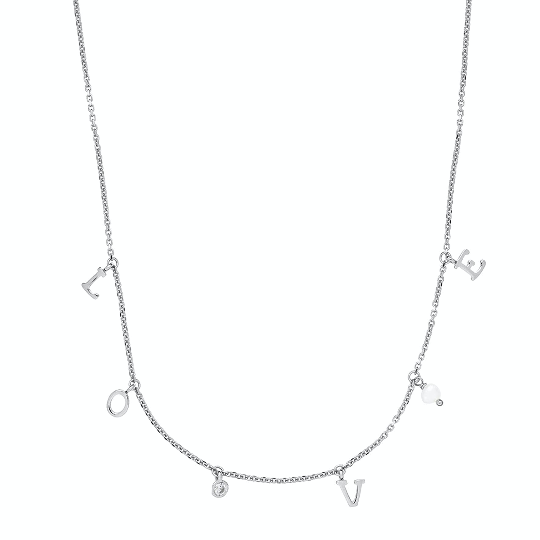 Passion Necklace from Izabel Camille in Silver Sterling 925