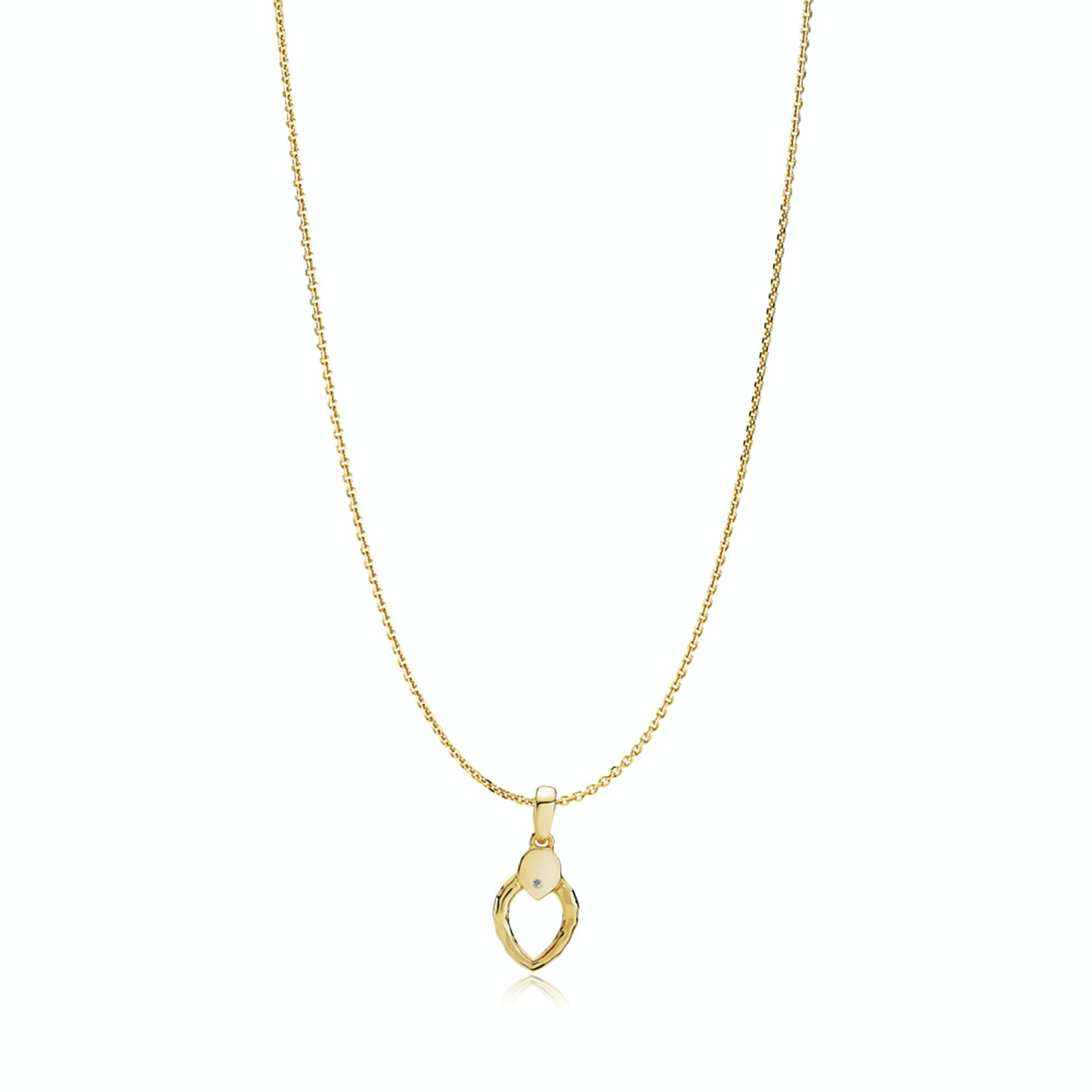 Cecilie Schmeichel Necklace from Izabel Camille in Goldplated-Silver Sterling 925