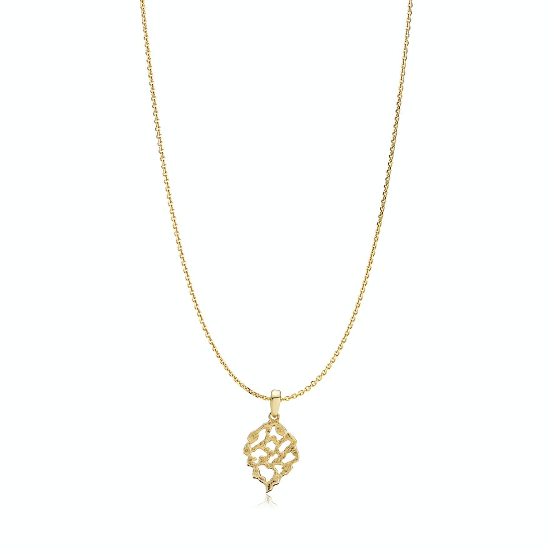 Holly Necklace von Izabel Camille in Vergoldet-Silber Sterling 925
