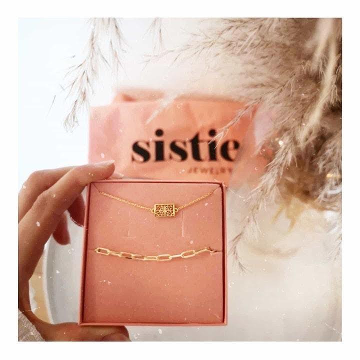 Emma necklace von Sistie in Silber Sterling 925|Blank