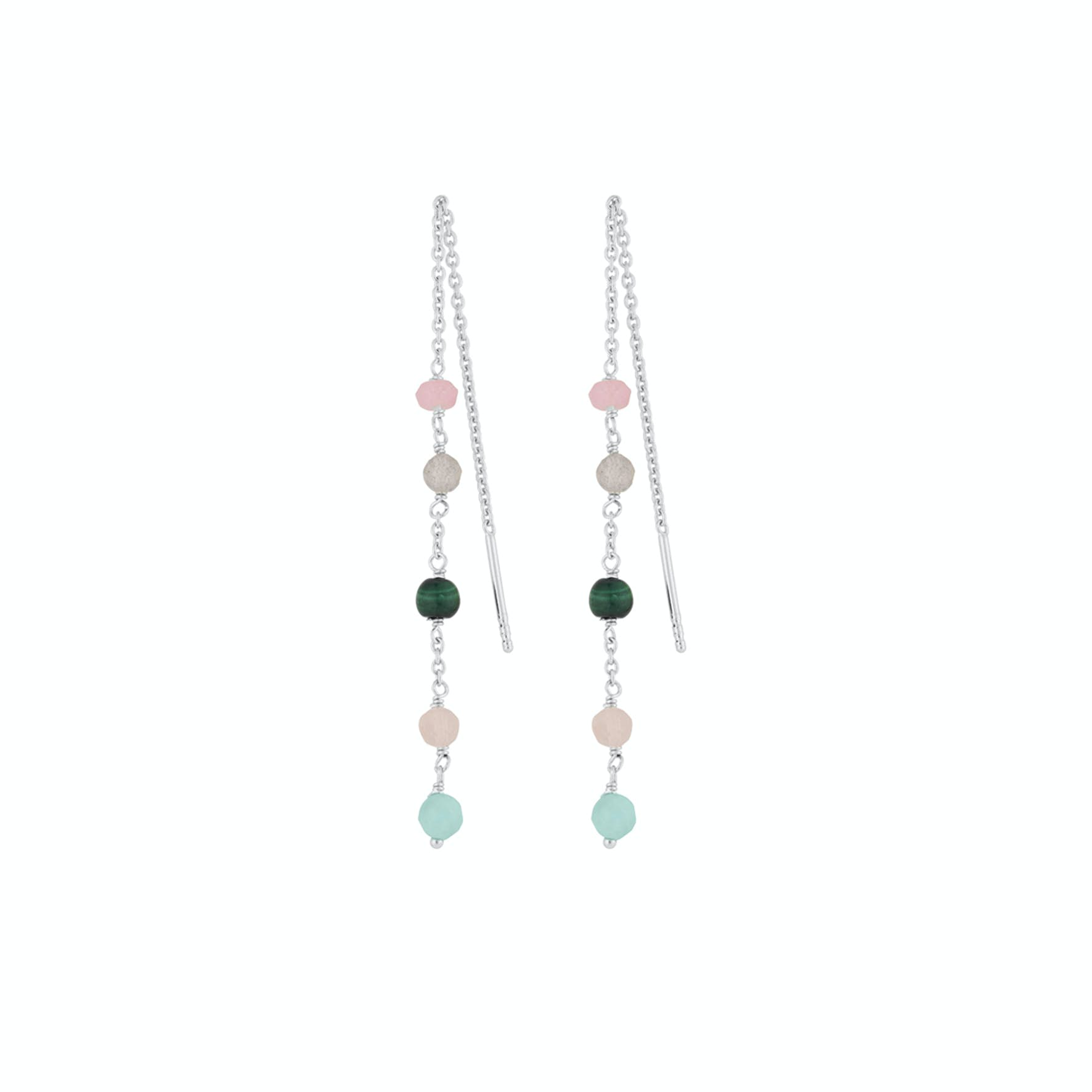 Harmony Earchains from Pernille Corydon in Silver Sterling 925