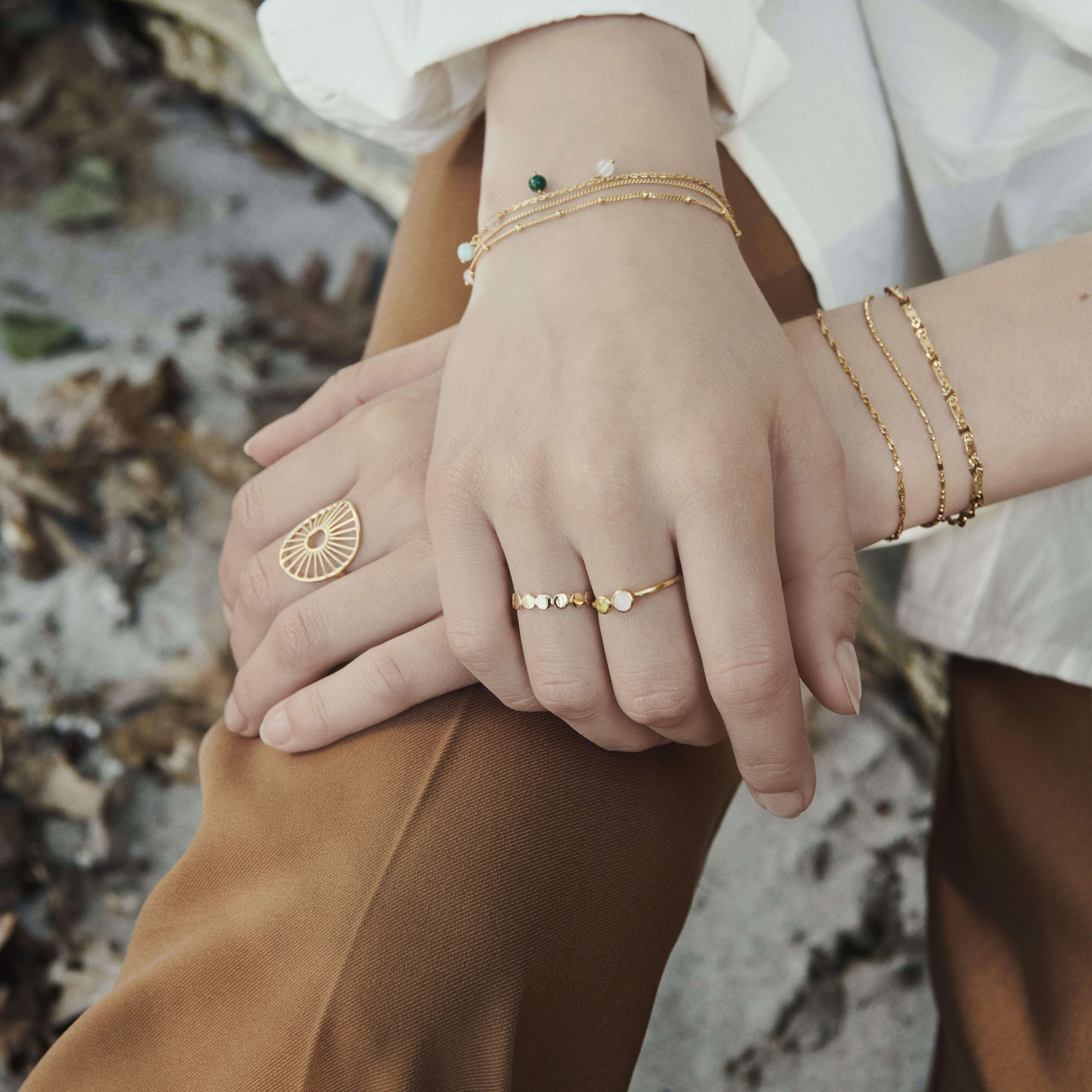 Harmony Bracelet fra Pernille Corydon i Sølv Sterling 925