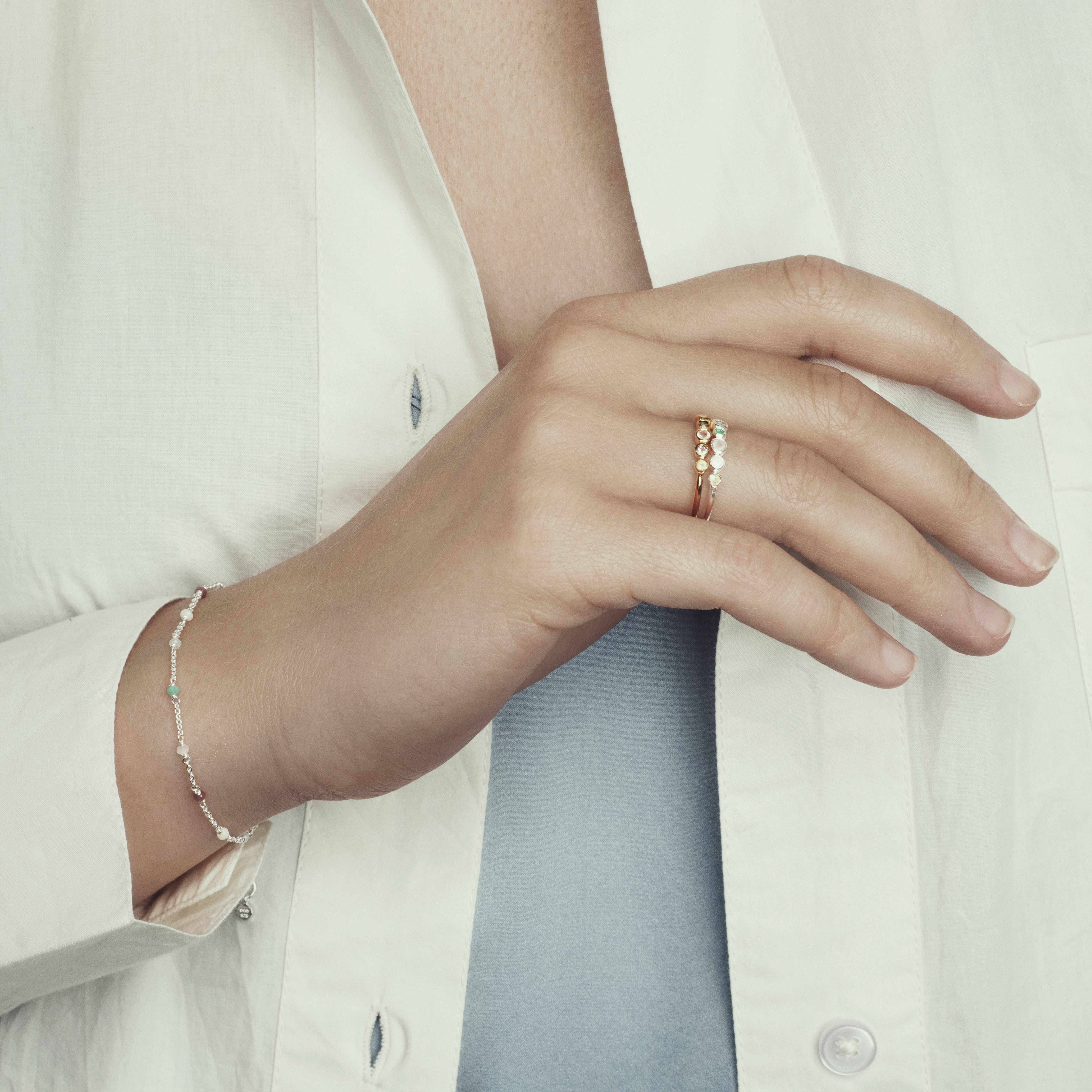 Calisto Bracelet from Pernille Corydon in Goldplated-Silver Sterling 925