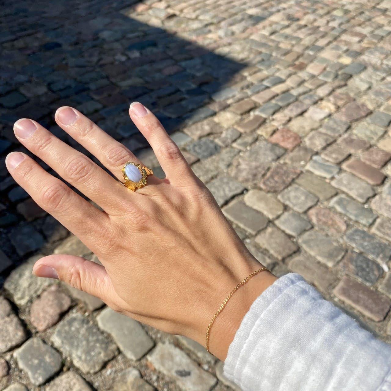 Figaros bracelet von Maanesten in Silber Sterling 925|Blank