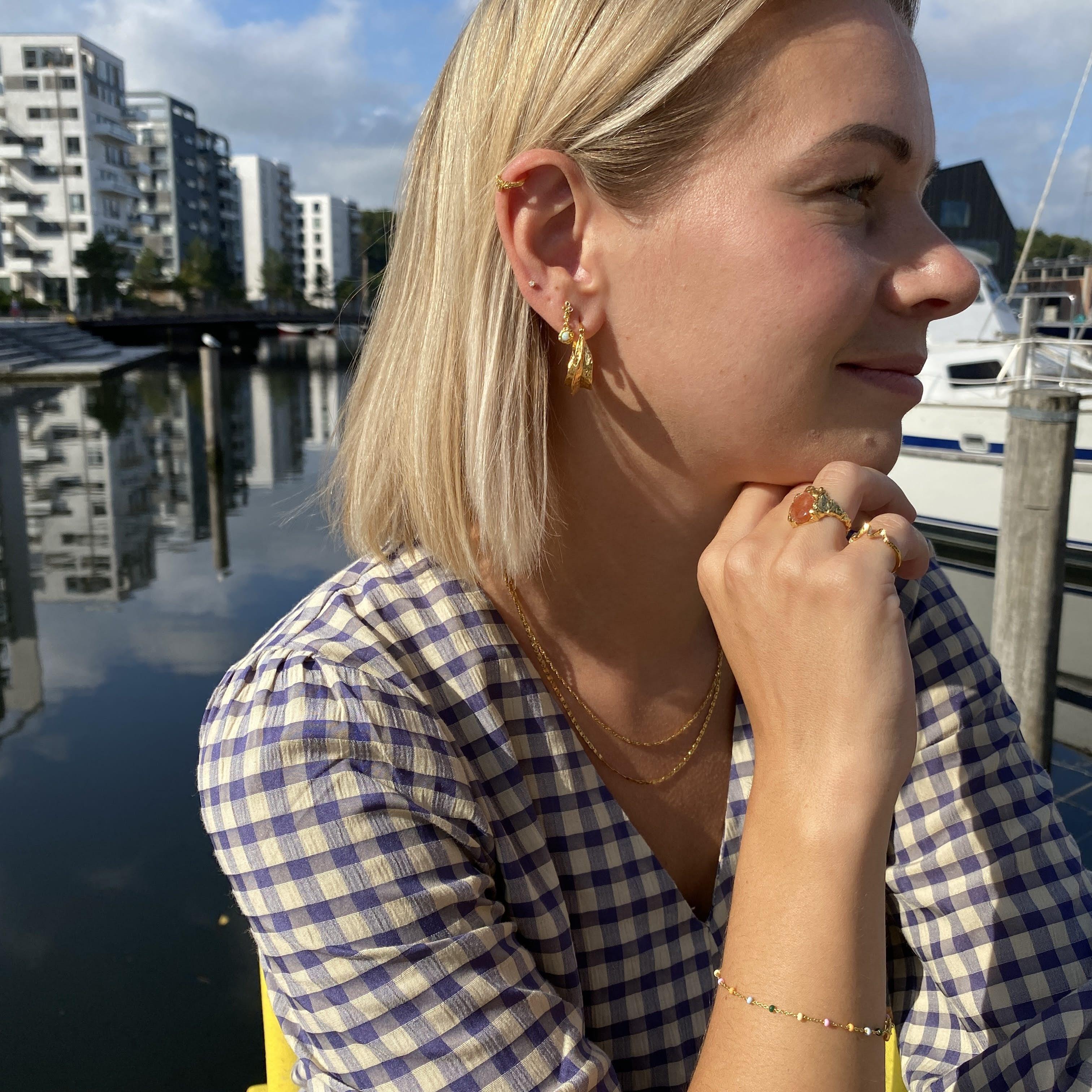 Taya earrings von Maanesten in Silber Sterling 925