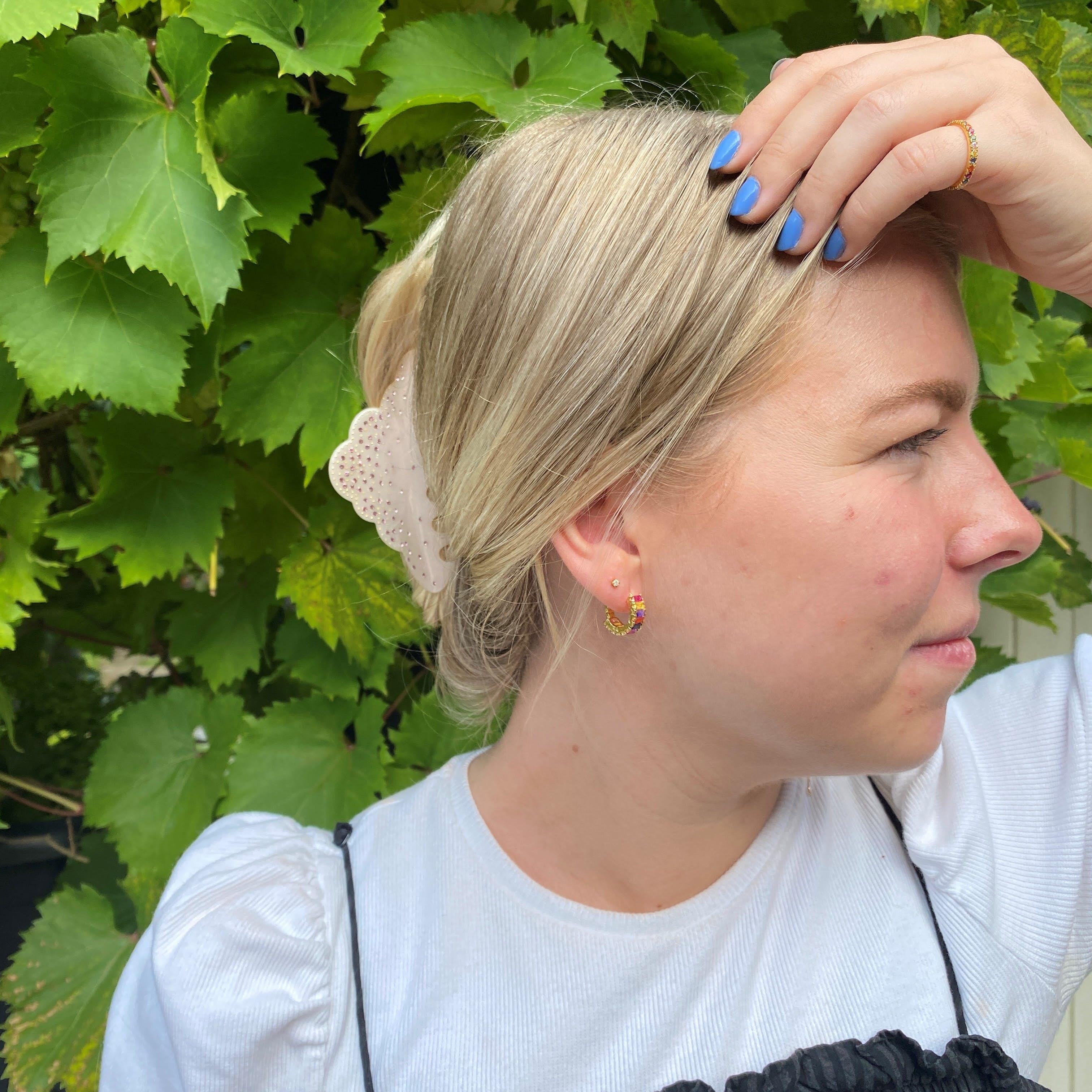 Marlena earrings fra Maanesten i Forgylt-Sølv Sterling 925
