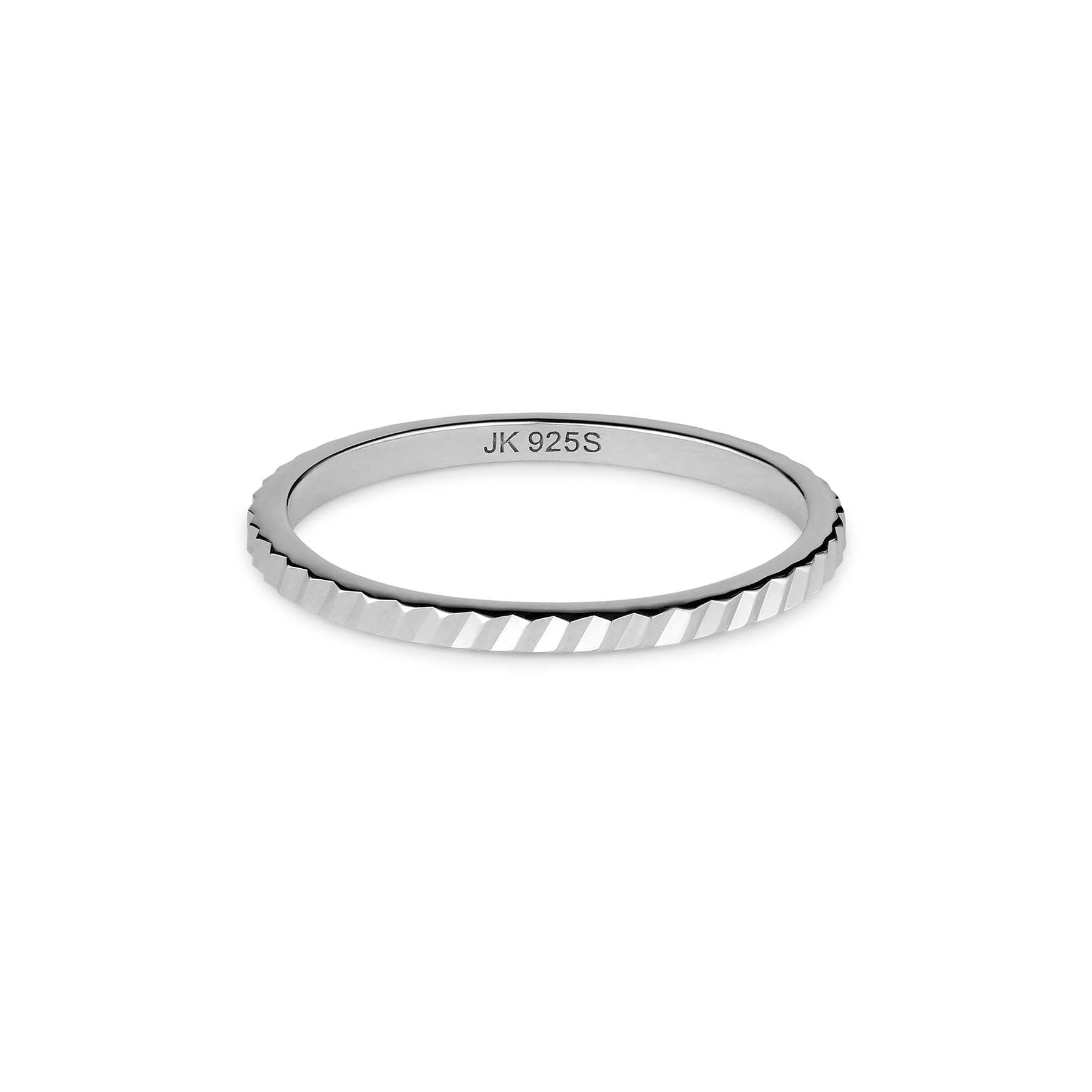 Small Reflection Ring von Jane Kønig in Silber Sterling 925