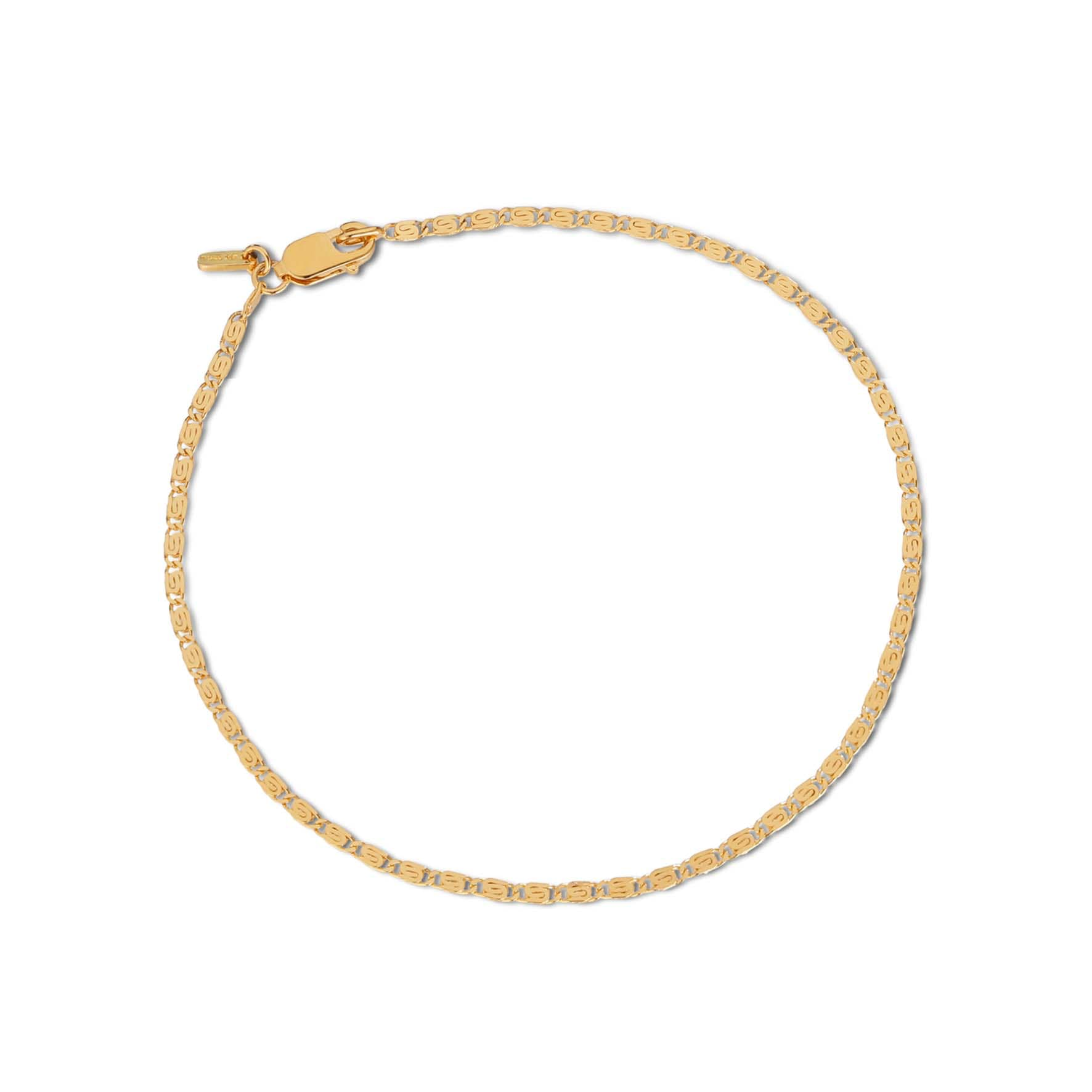 Envision Chain Bracelet from Jane Kønig in Goldplated-Silver Sterling 925