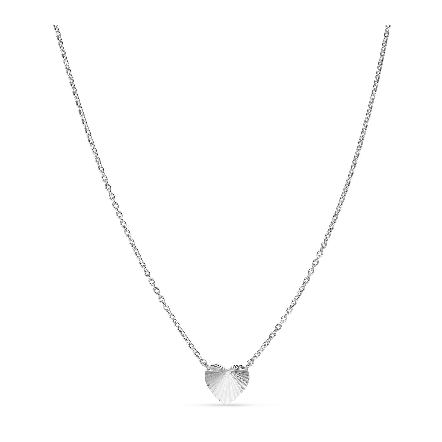 Reflection Heart Necklace