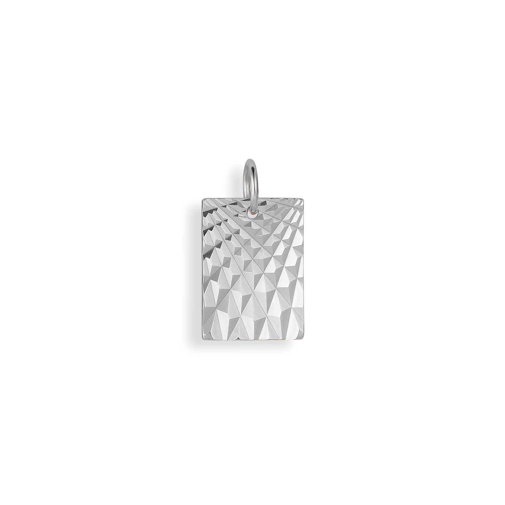 Reflection Square Pendant von Jane Kønig in Silber Sterling 925