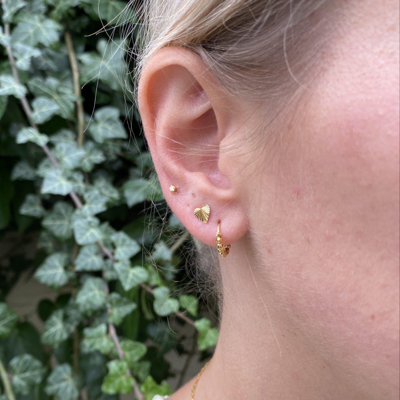 Bead Twist Earring