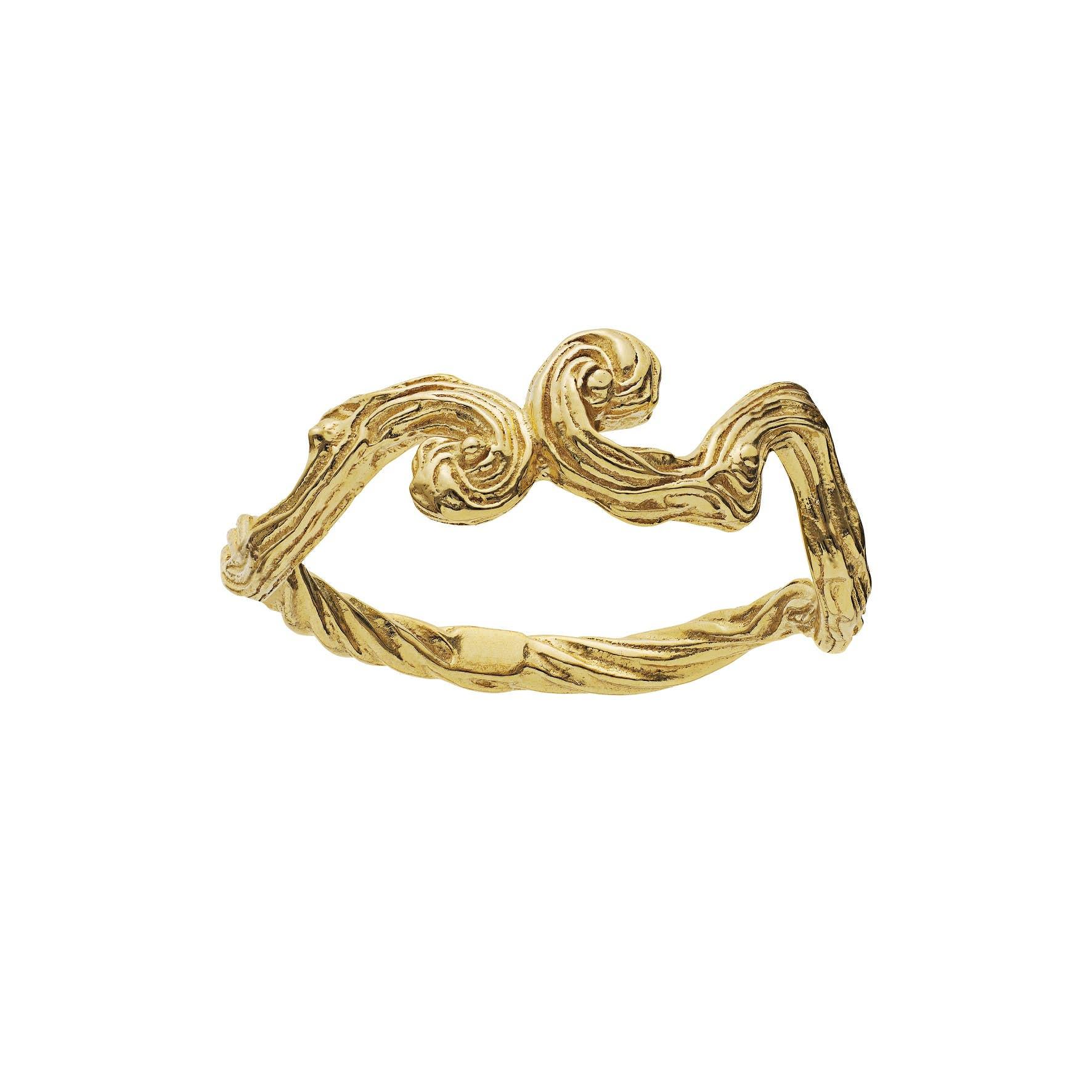 Cora Ring fra Maanesten i Forgyldt-Sølv Sterling 925