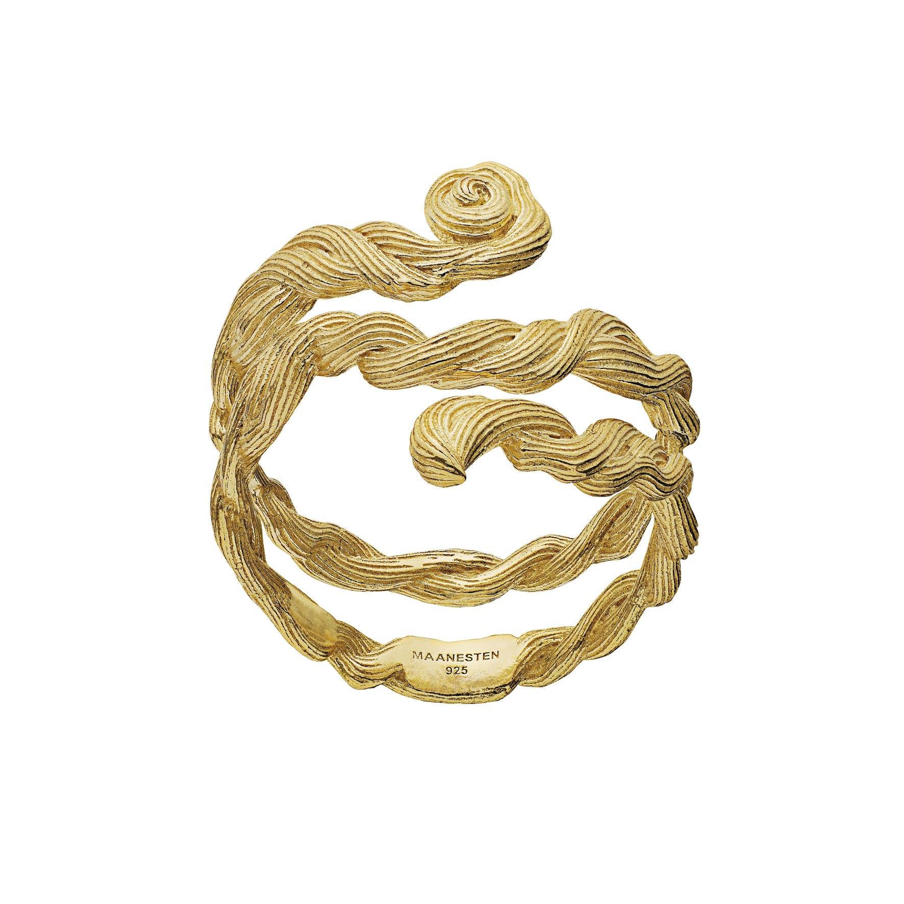 Bobie Ring von Maanesten in Vergoldet-Silber Sterling 925