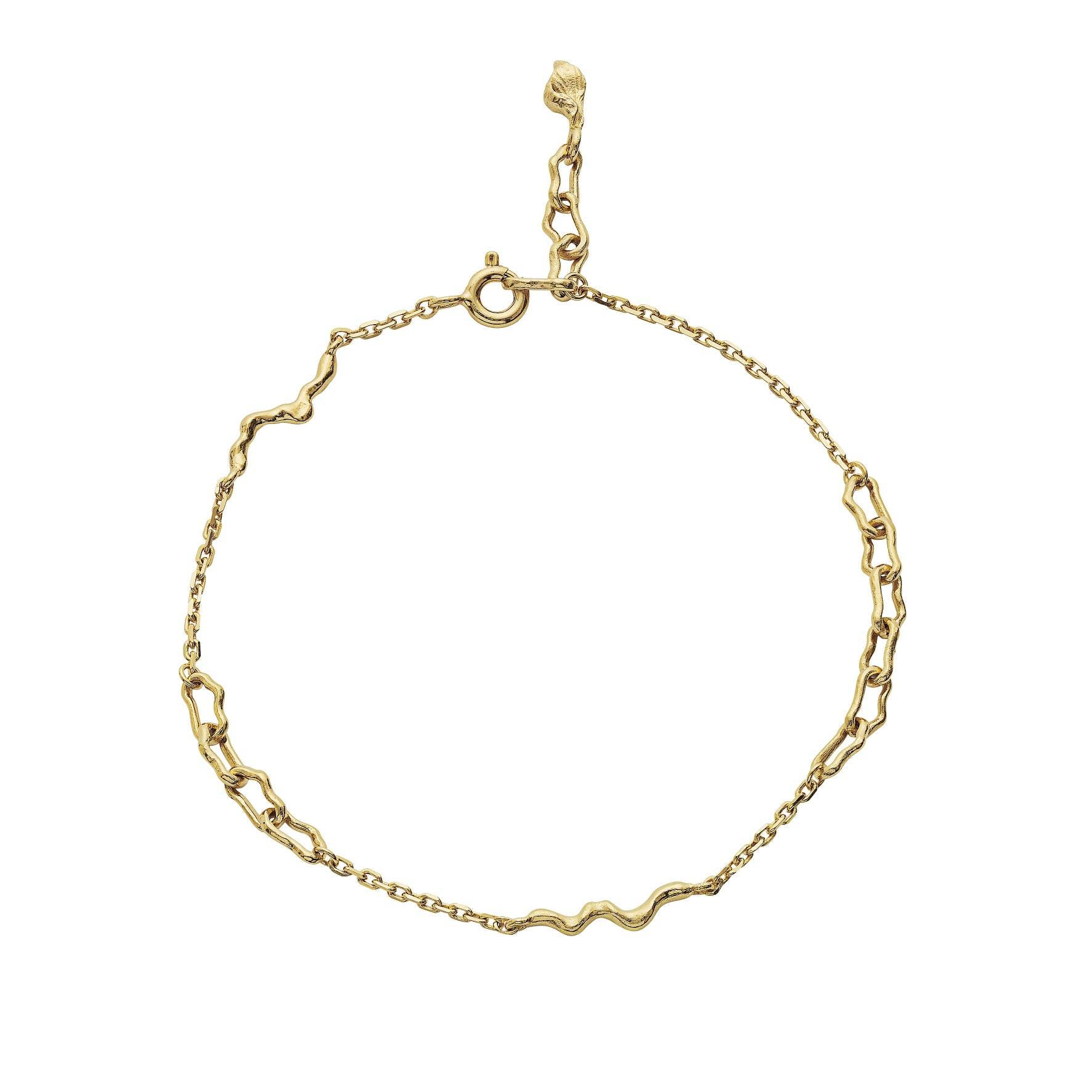 Lenani Bracelet von Maanesten in Vergoldet-Silber Sterling 925