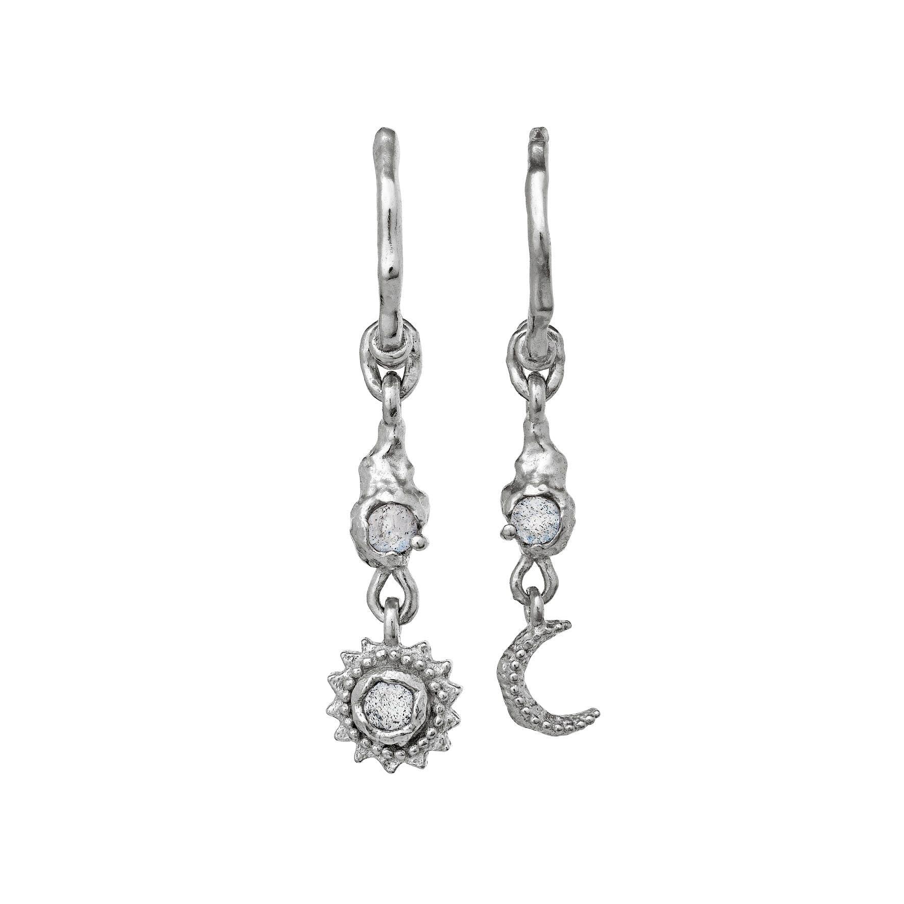 Ember Earrings from Maanesten in Silver Sterling 925