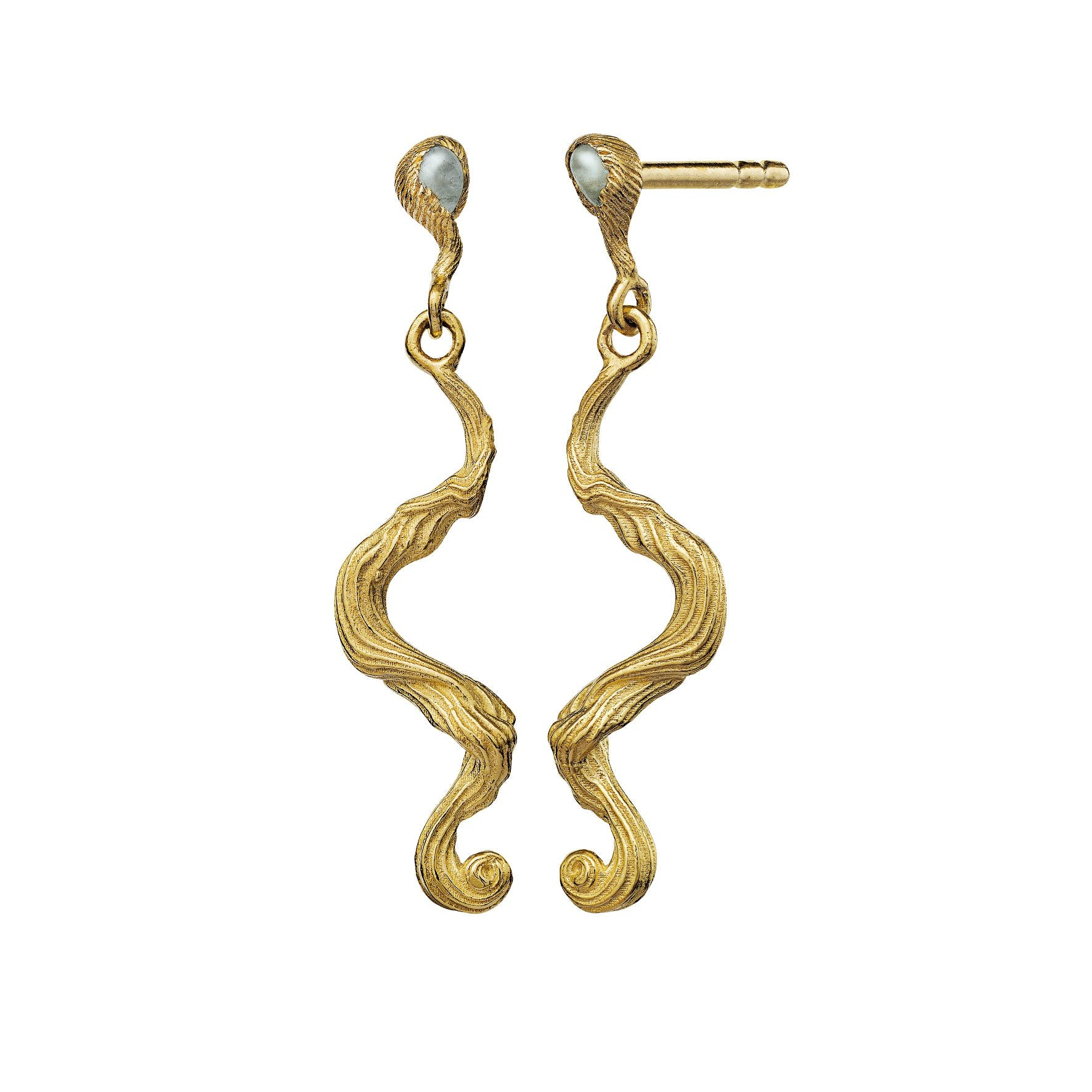 Maya Earrings fra Maanesten i Forgyldt-Sølv Sterling 925