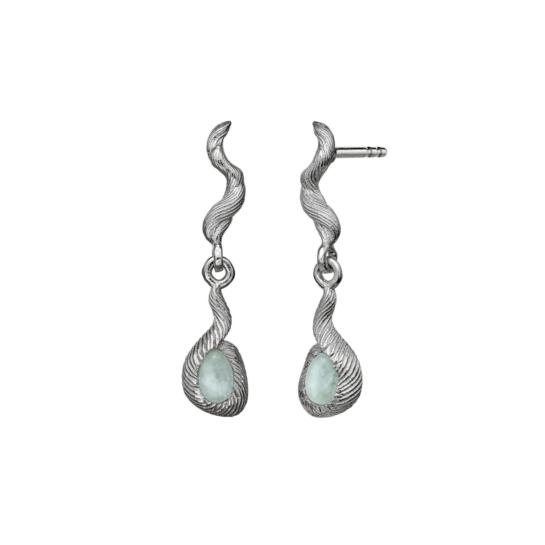 Nico Earrings von Maanesten in Silber Sterling 925