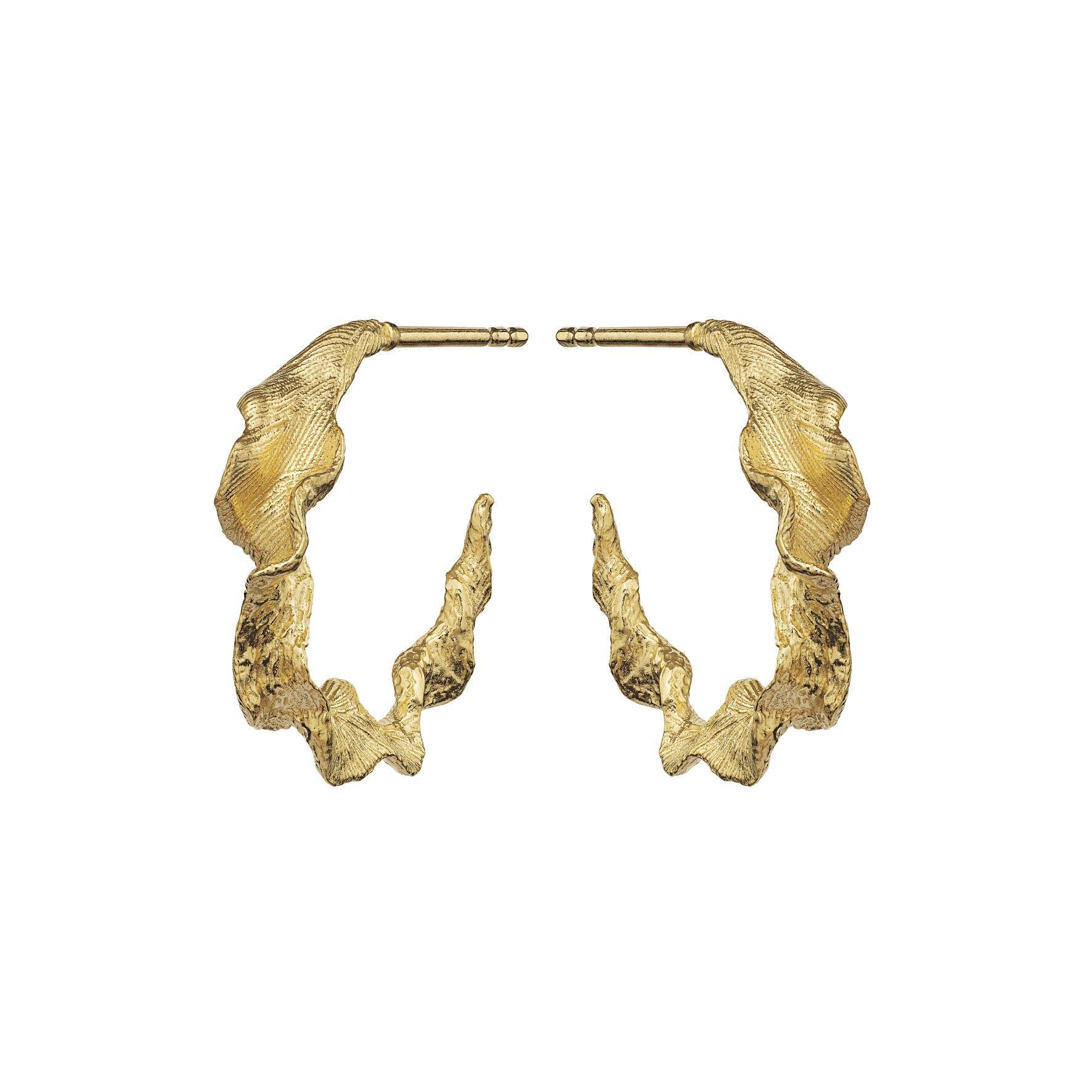 Nino Earrings fra Maanesten i Forgyldt-Sølv Sterling 925