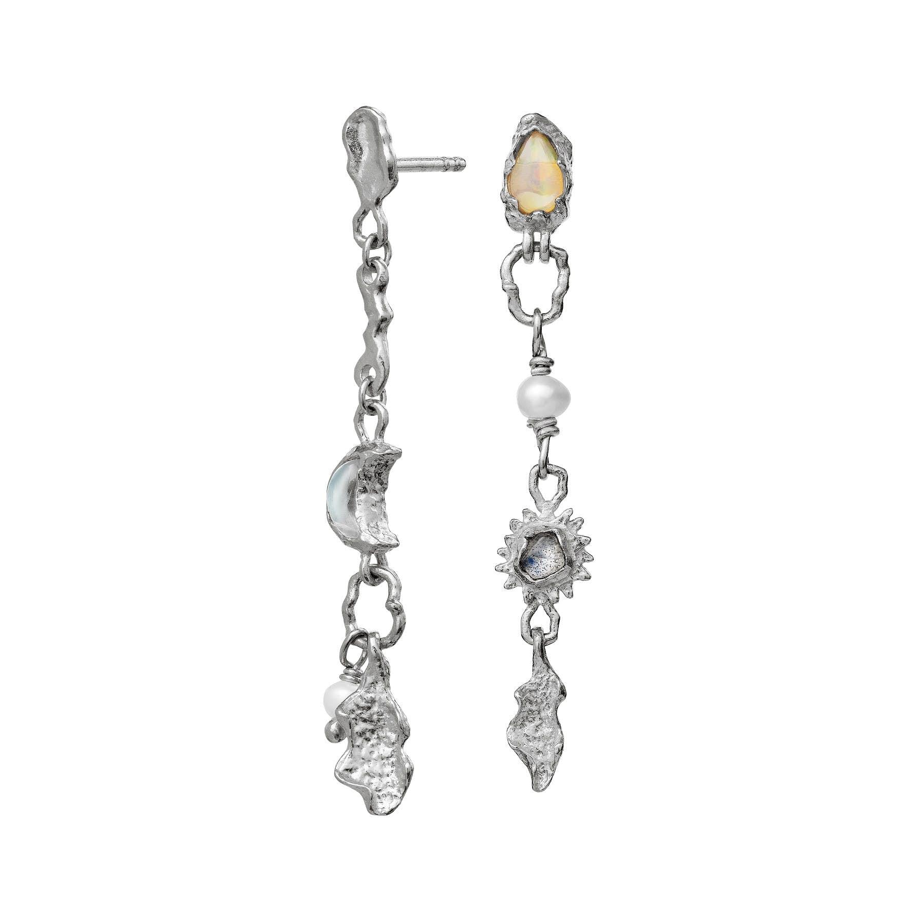 Theodora Earrings von Maanesten in Silber Sterling 925