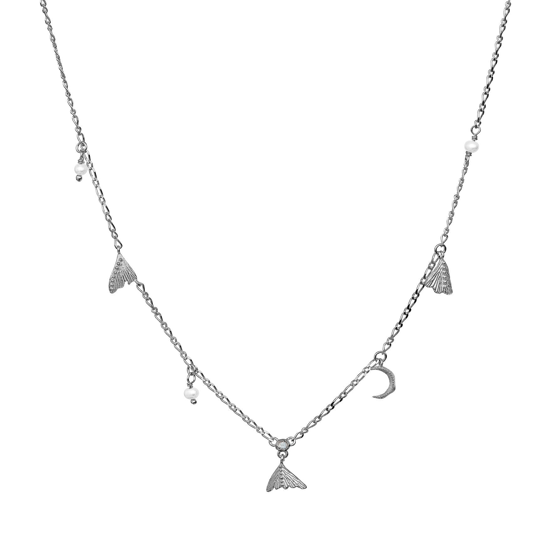 Nocha Necklace fra Maanesten i Sølv Sterling 925