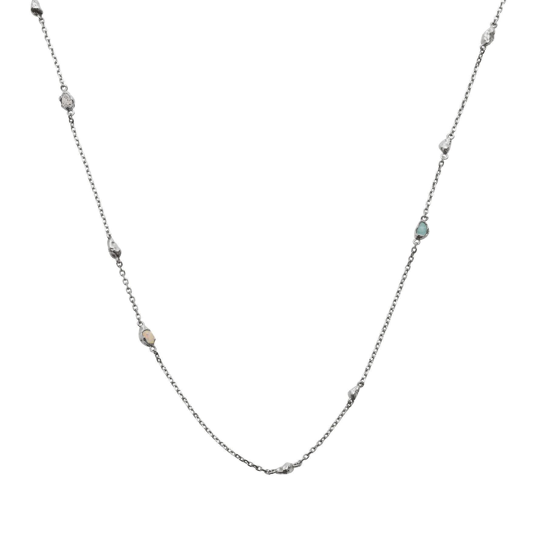 Zadie Necklace von Maanesten in Silber Sterling 925