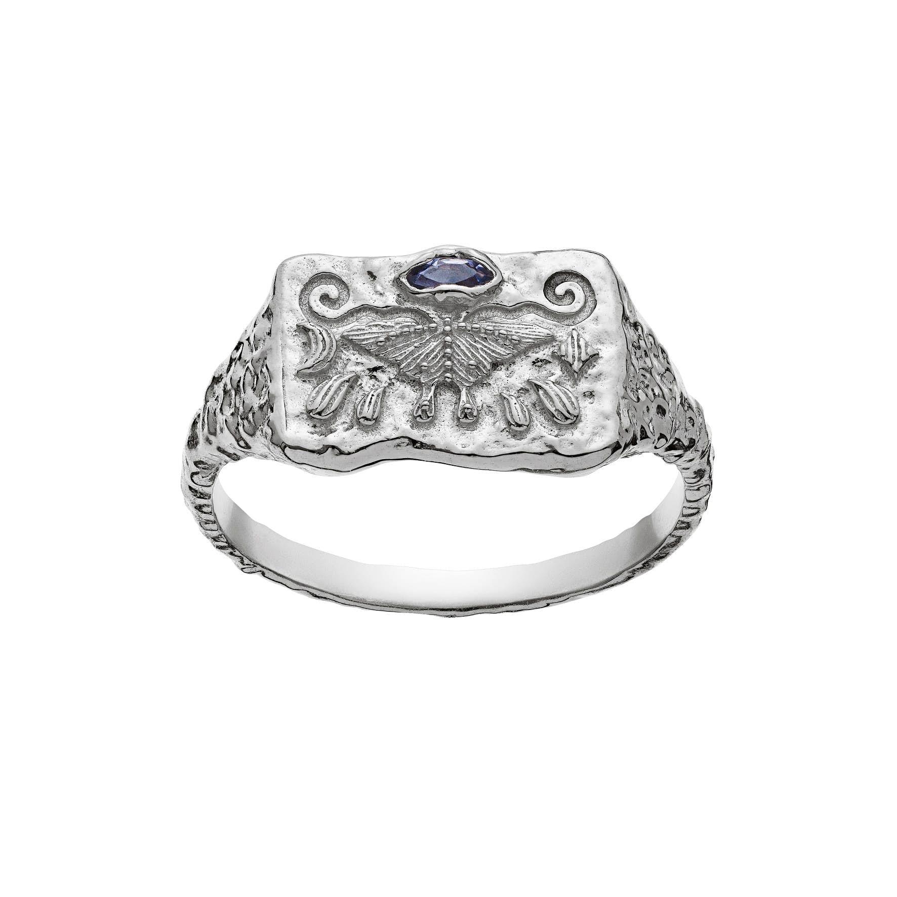 Gry Ring von Maanesten in Silber Sterling 925