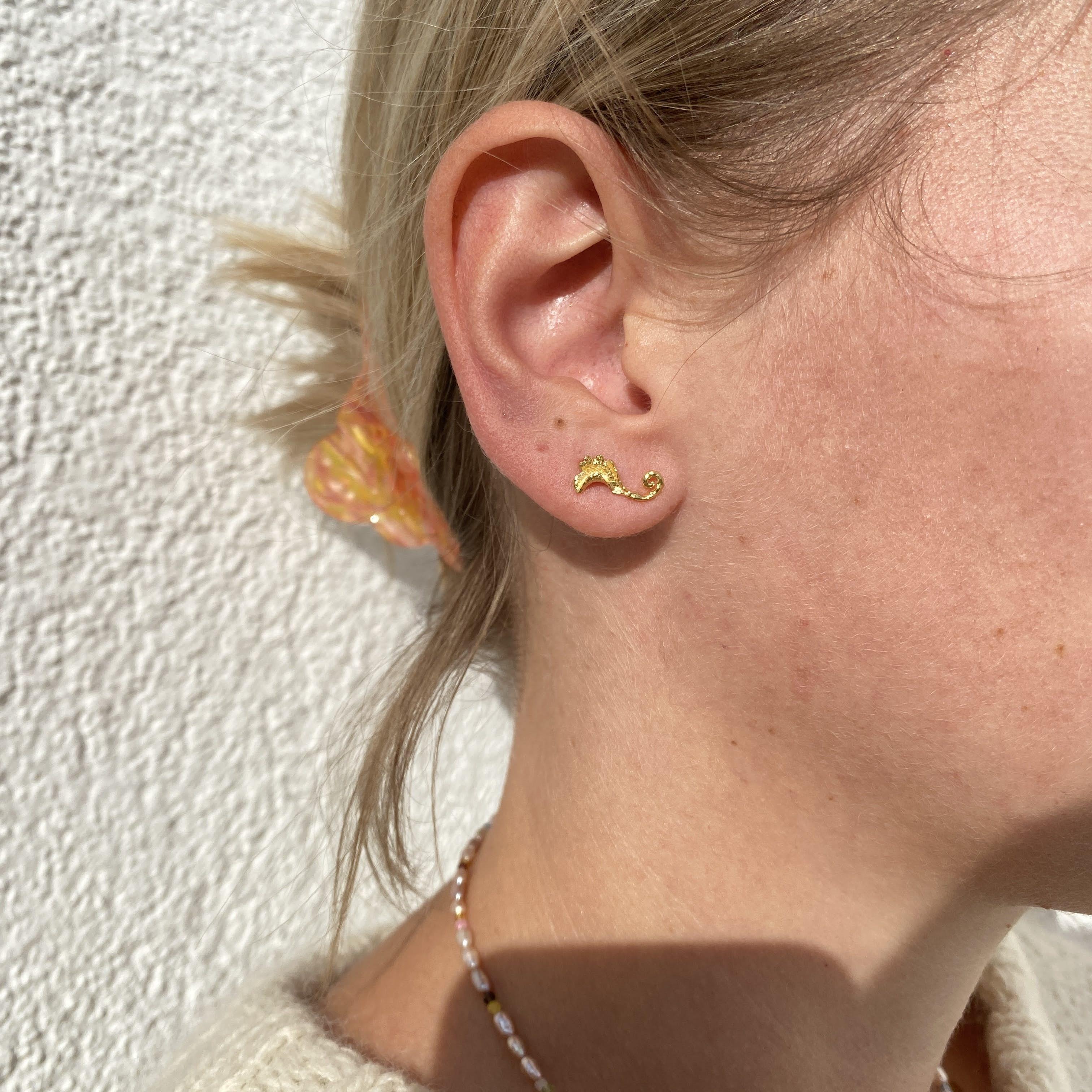 Grace Earrings from Maanesten in Silver Sterling 925