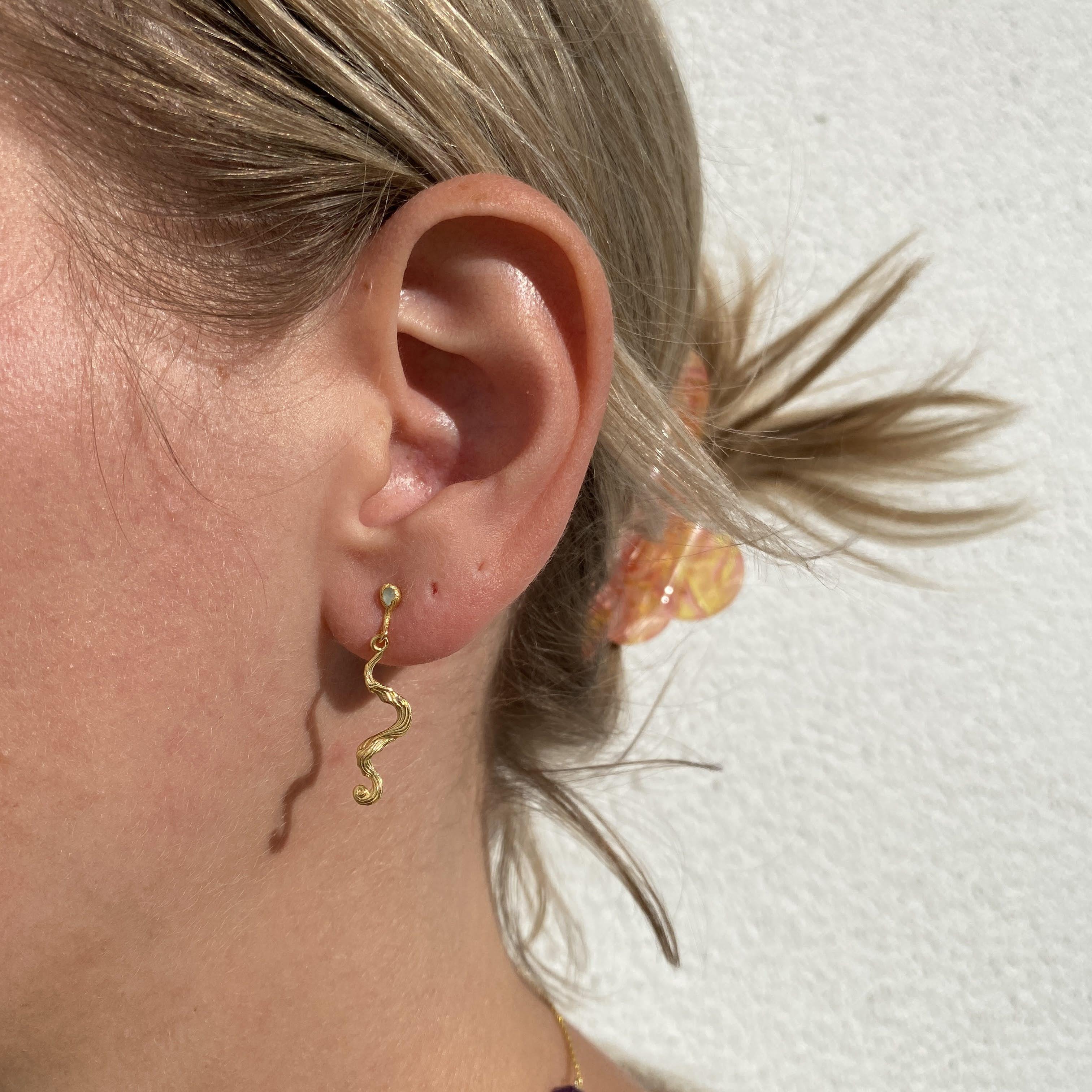 Maya Earrings fra Maanesten i Sølv Sterling 925