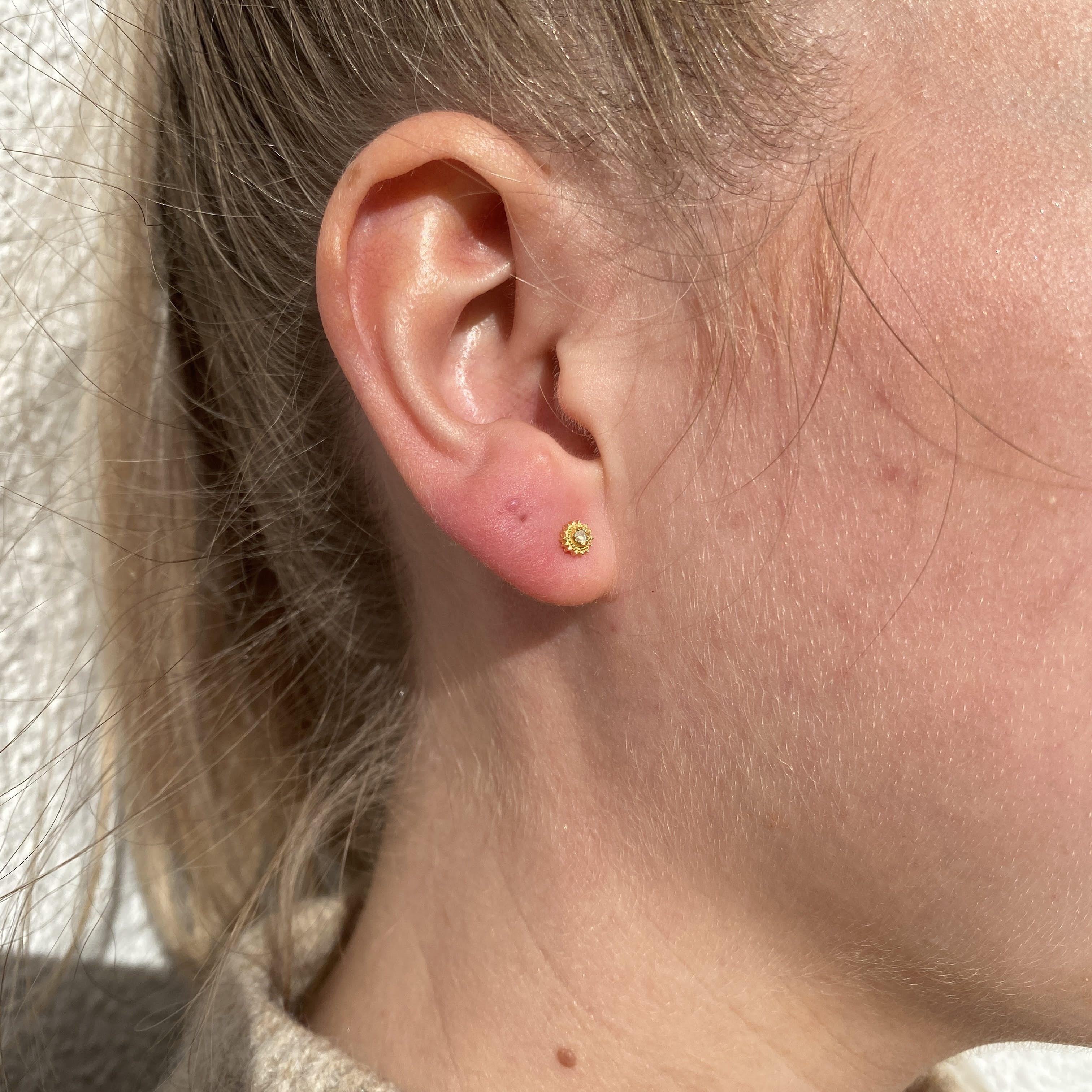 Willa Earring von Maanesten in Silber Sterling 925