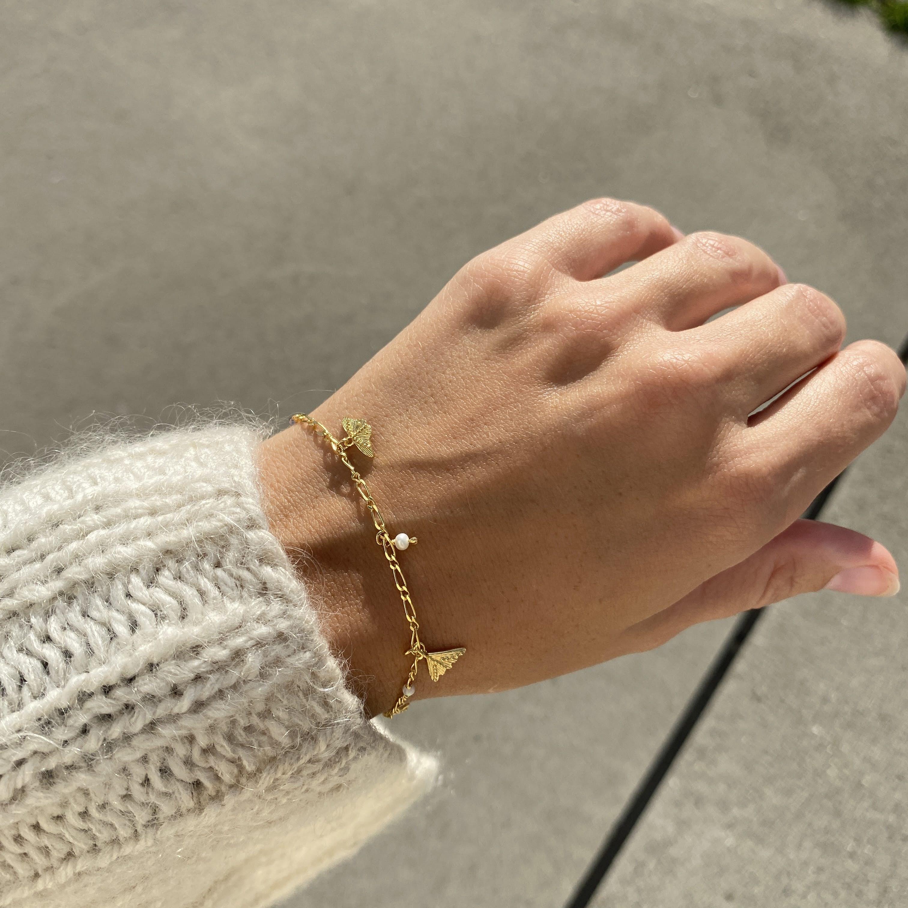Luna Bracelet fra Maanesten i Sølv Sterling 925