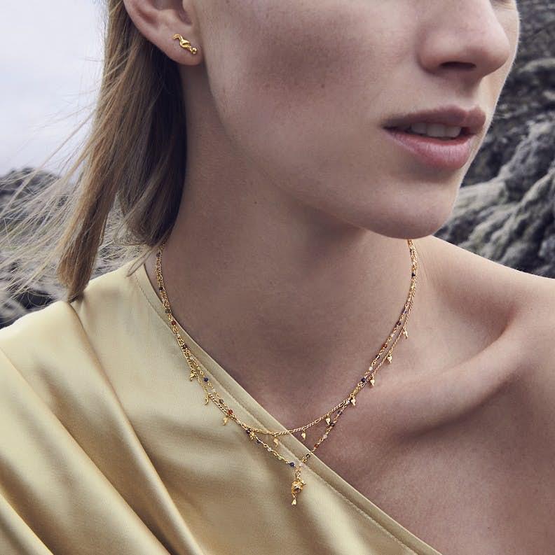 Aphrodite Necklace fra Maanesten i Sølv Sterling 925