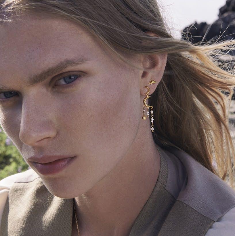 Astrea Earrings fra Maanesten i Sølv Sterling 925