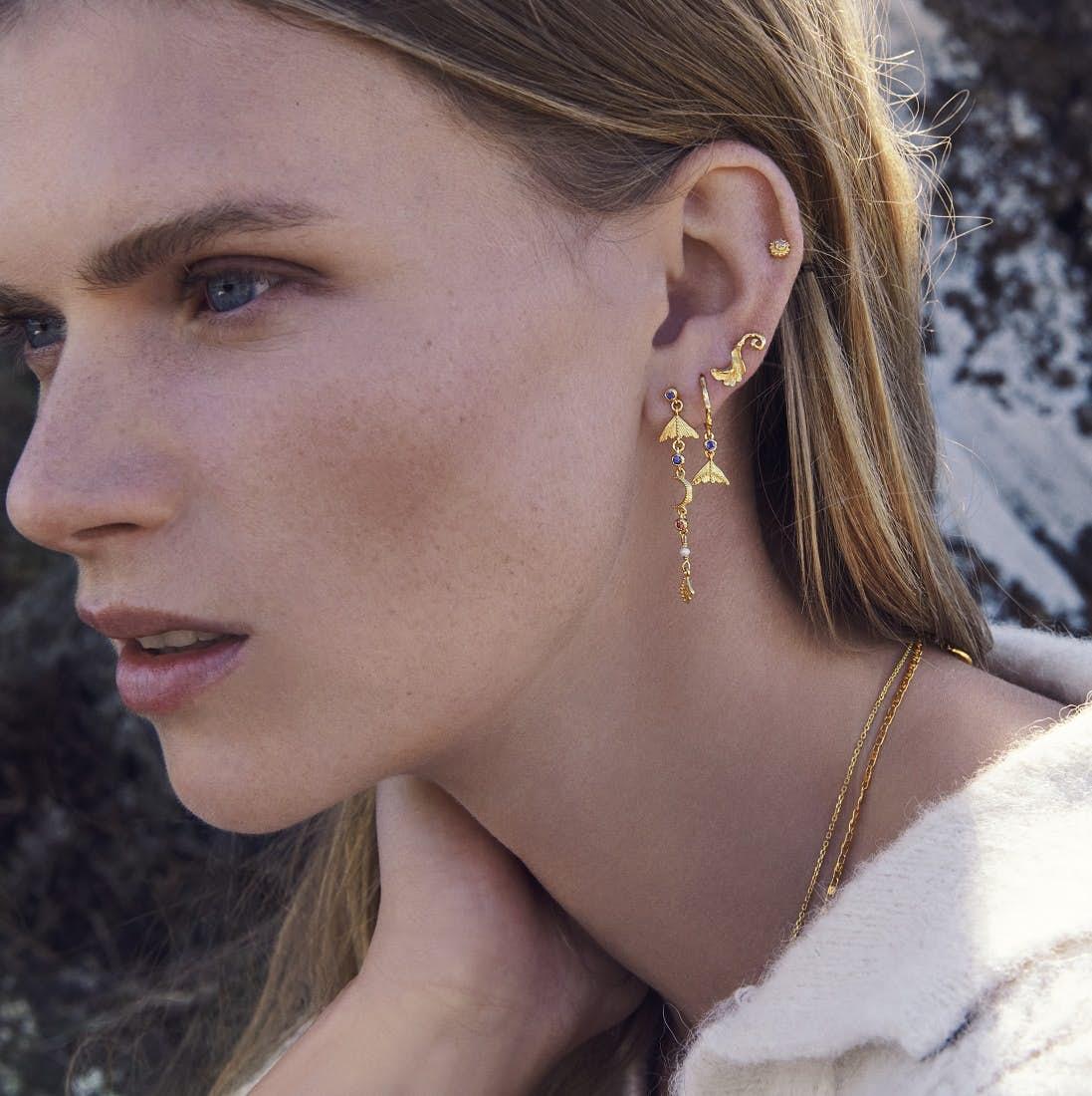 Buffy Earrings fra Maanesten i Sølv Sterling 925