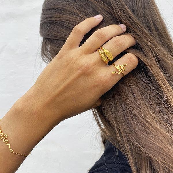 Fam Mom Ring fra Sistie i Sølv Sterling 925