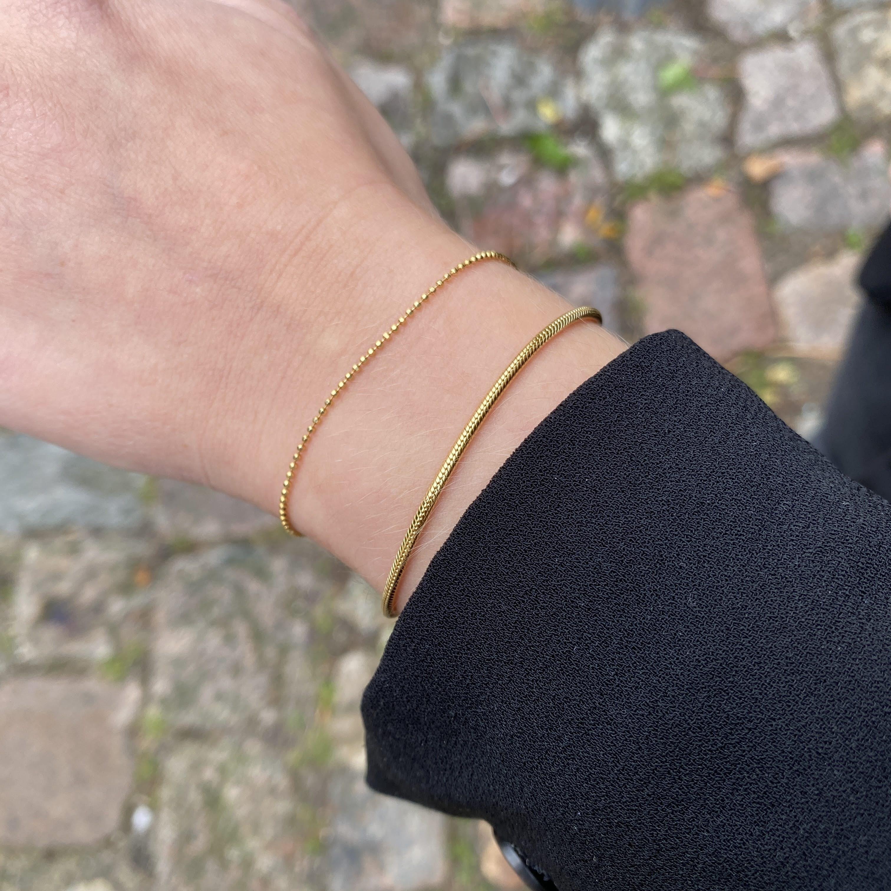 Ella Bracelet från Pernille Corydon i Förgyllt-Silver Sterling 925