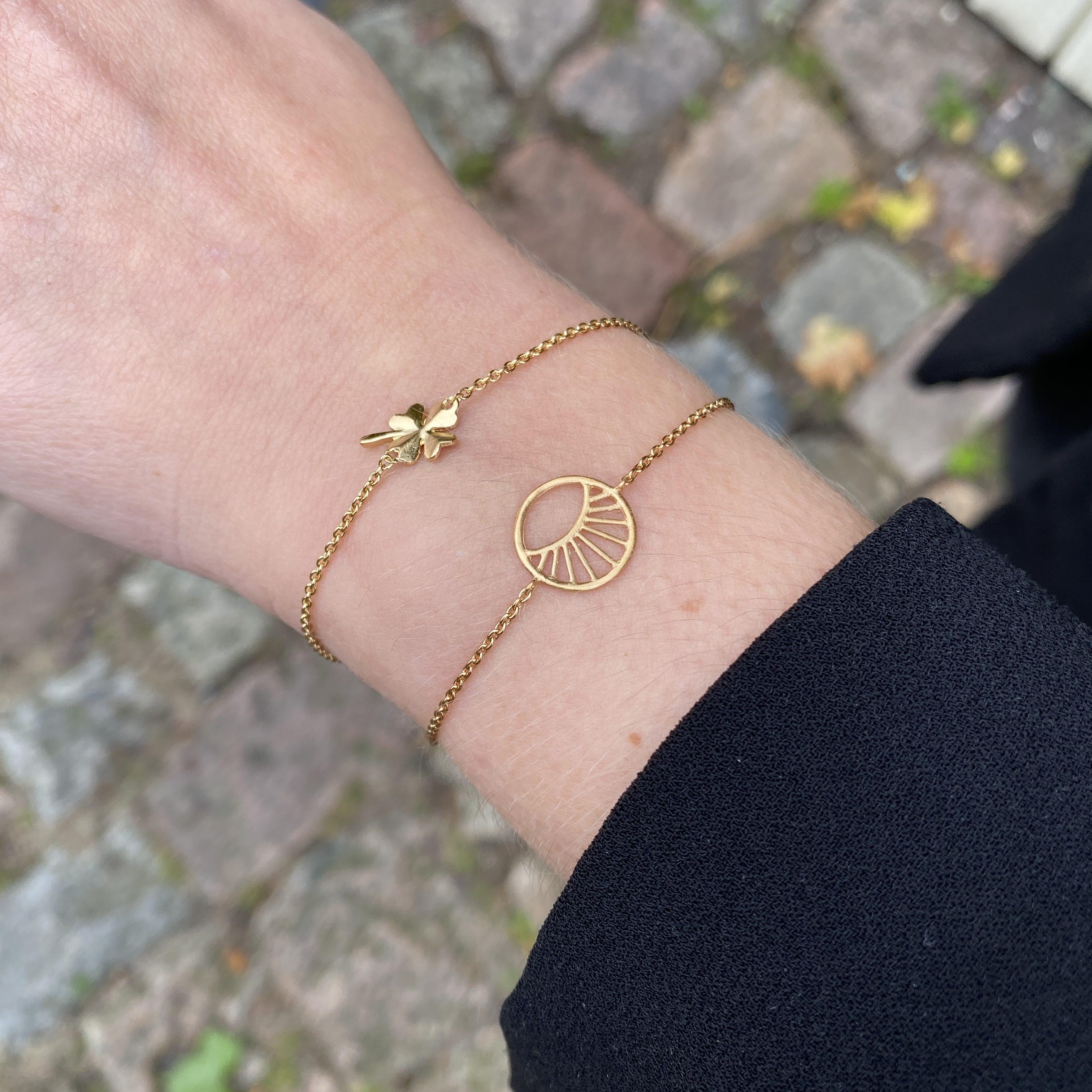 Small Daylight bracelet von Pernille Corydon in Silber Sterling 925| Matt,Blank