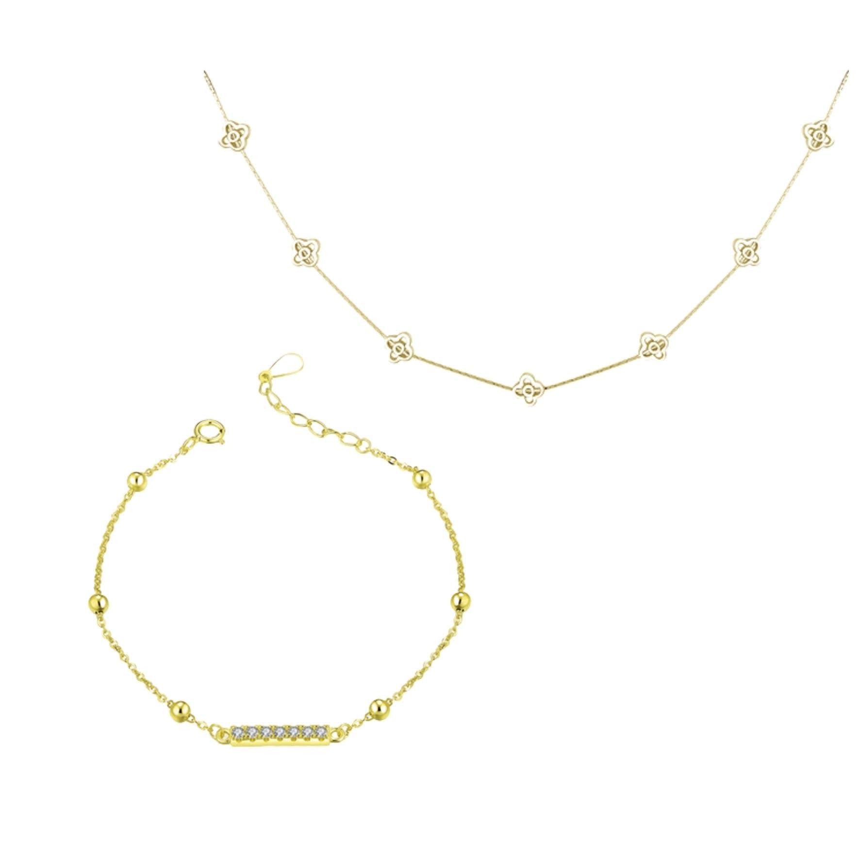 Jewelry mix: Flowers